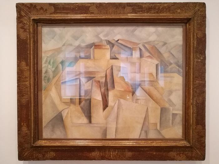 Mostra Pablo Picasso X Thomas Scheibitz al Berggruen Museum : Casa sulla collina