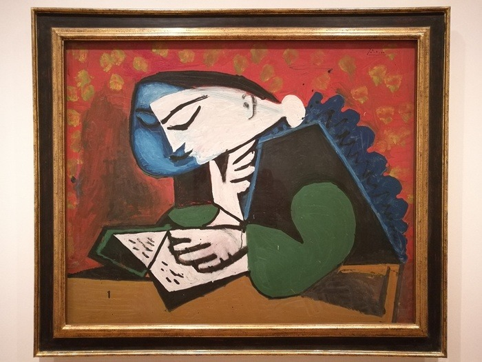Mostra Pablo Picasso X Thomas Scheibitz al Berggruen Museum : Lettura