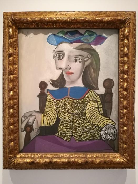 Mostra Pablo Picasso X Thomas Scheibitz al Berggruen Museum : Il maglione giallo