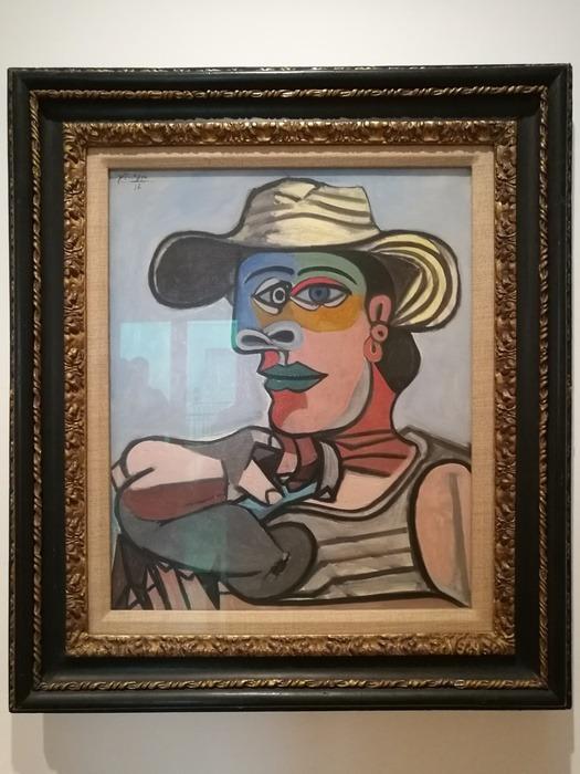 Mostra Pablo Picasso X Thomas Scheibitz al Berggruen Museum : Marinaio