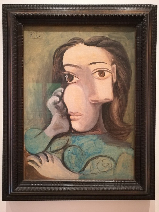 Mostra Pablo Picasso X Thomas Scheibitz al Berggruen Museum : Ritratto di una donna