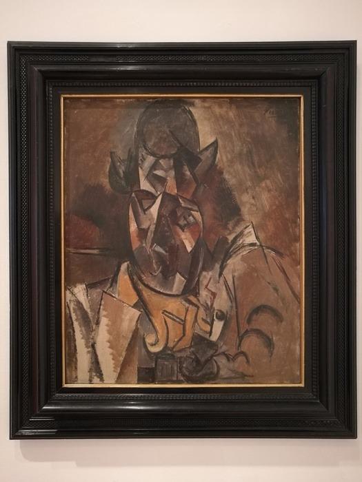 Mostra Pablo Picasso X Thomas Scheibitz al Berggruen Museum : Testa di donna