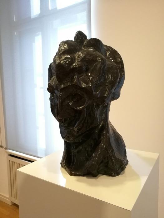 Mostra Pablo Picasso X Thomas Scheibitz al Berggruen Museum : Testa