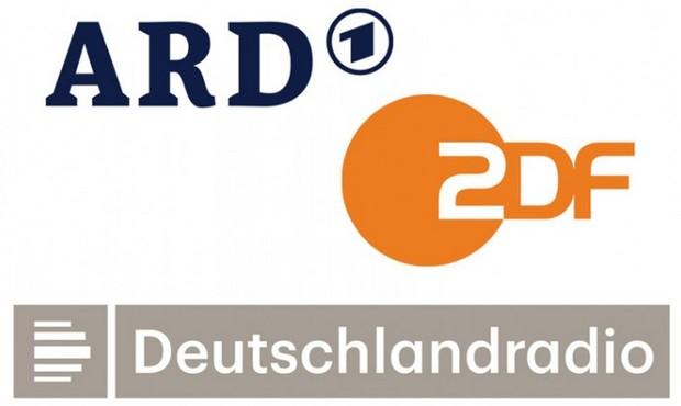 logo della ard, zdf, Deutschlandradio
