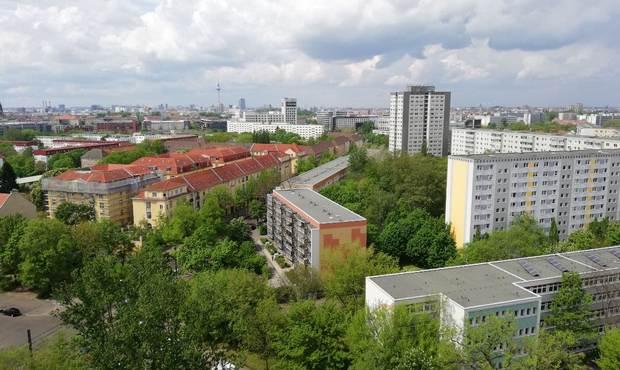 vist di Berlino dall'alto